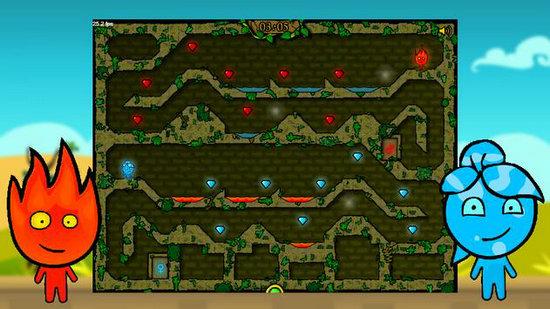 森林冰火人2游戏