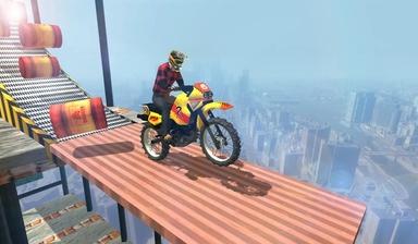 摩托车特技表演