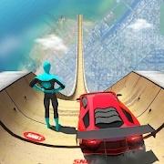 超级英雄游戏巨型坡道(魔玩单机)