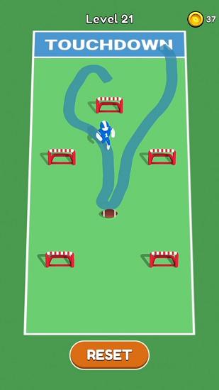 画个橄榄球