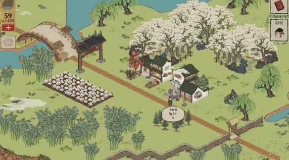 江南百景图桃花村铲子在哪?桃花村铲子具体位置前置任务流程[图]图片1