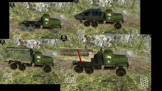 卡车运输越野模拟破解版