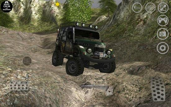 卡车运输越野模拟手游
