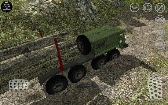 卡车运输越野模拟无限金币版