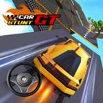 汽车特技3D赛车超级坡道无限金钱版