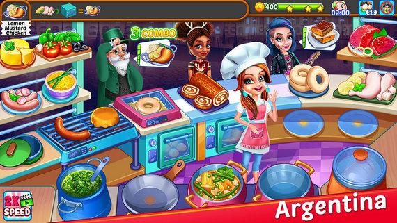 星级餐厅烹饪游戏