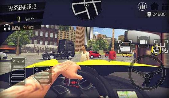 开放世界模拟计程车