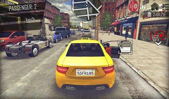 开放世界模拟计程车破解版下载