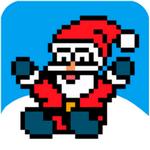 圣诞老人滑雪游戏
