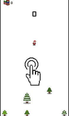 圣诞老人滑雪破解版