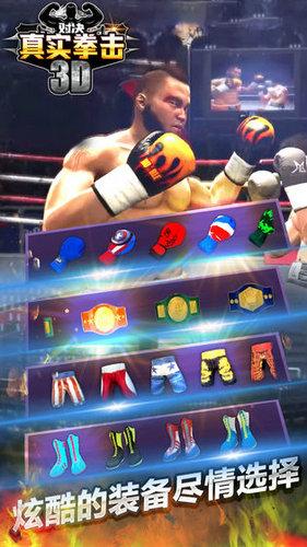 真实拳击对决