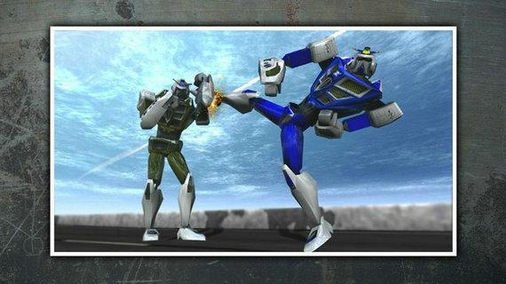 打架机器人游戏下载