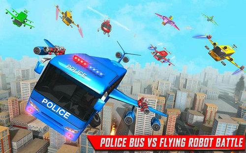 机器人警察巴士破解版
