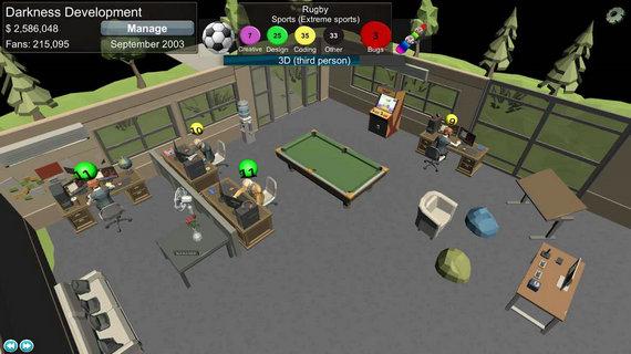 游戏开发模拟破解版
