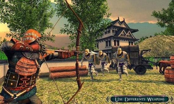 岚战士双剑战斗游戏下载