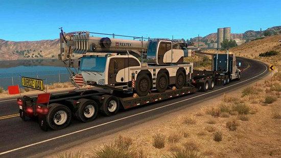 欧洲卡车货运驾驶模拟器