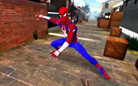 英雄蜘蛛绳战斗大佬模拟器