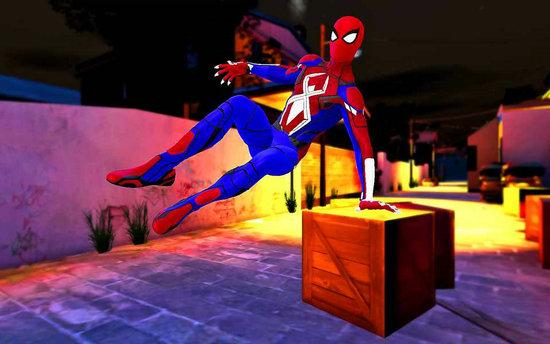 英雄蜘蛛绳战斗大佬模拟器手游