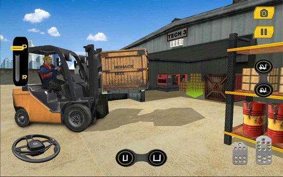 叉车模拟器游戏