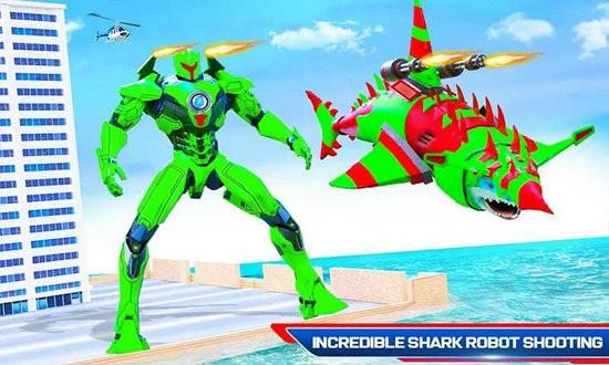 进攻式鲨鱼机器人