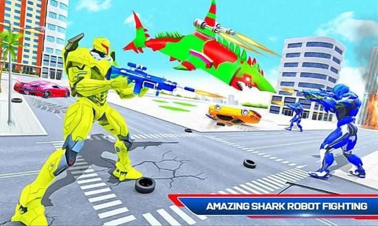 进攻式鲨鱼机器人下载