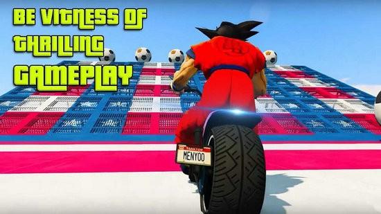 超级英雄摩托车特技游戏下载