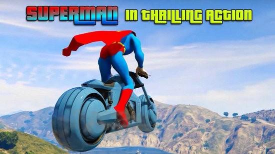 超级英雄摩托车特技
