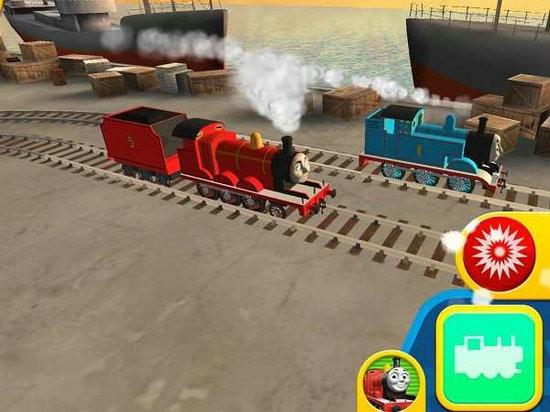 托马斯与朋友竞速挑战