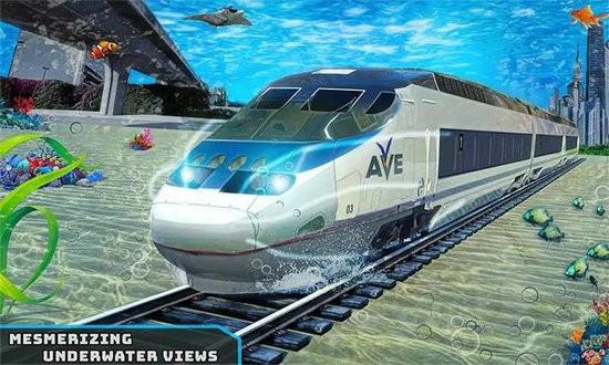 水下子弹头火车模拟器