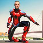 飞天蜘蛛超级英雄无限金币版