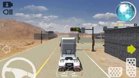 美洲卡车模拟器手游
