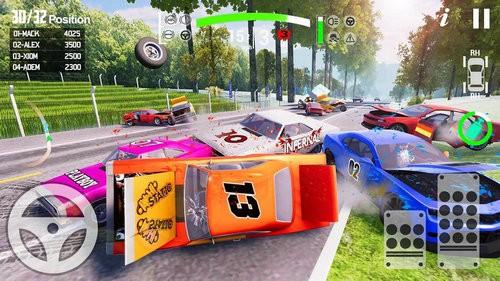 车祸事故模拟