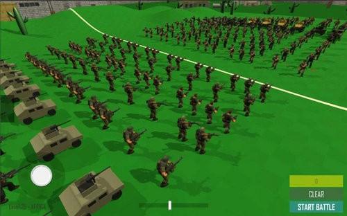 世界大战现代战斗模拟器沙箱