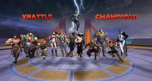 X战冠军真人格斗游戏