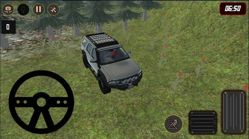 4x4越野森林模拟器