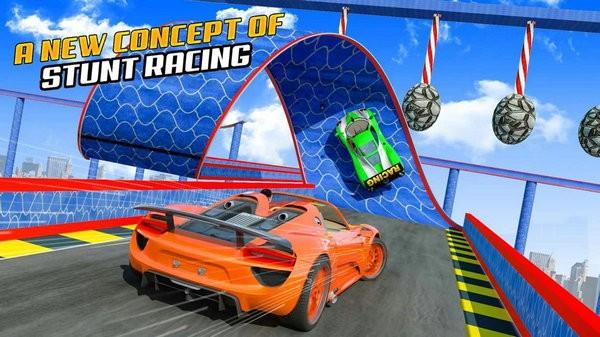 超级英雄GT赛车特技游戏