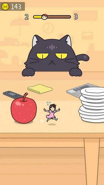 捉迷藏猫逃亡无限金币版