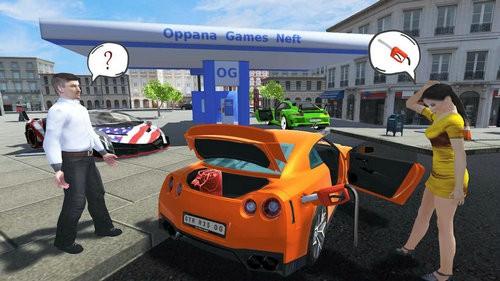 跑车模拟器游戏