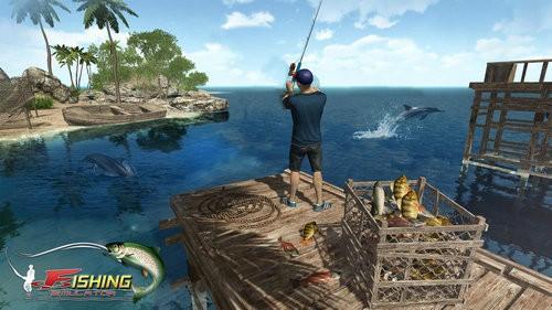 卷轴钓鱼模拟器下载