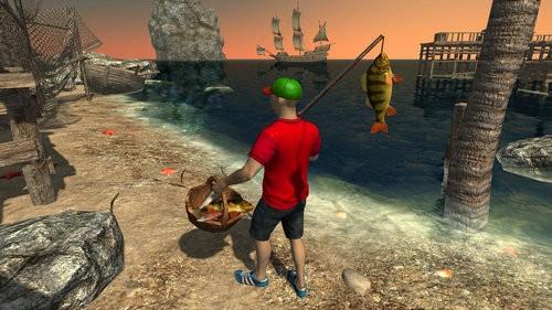 卷轴钓鱼模拟器