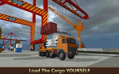 货船起重机城市建设模拟游戏