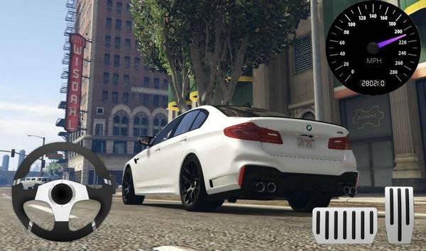 城市赛车宝马M5停车场安卓下载