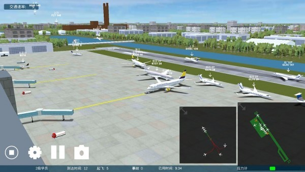 疯狂机场3D安卓中文破解版