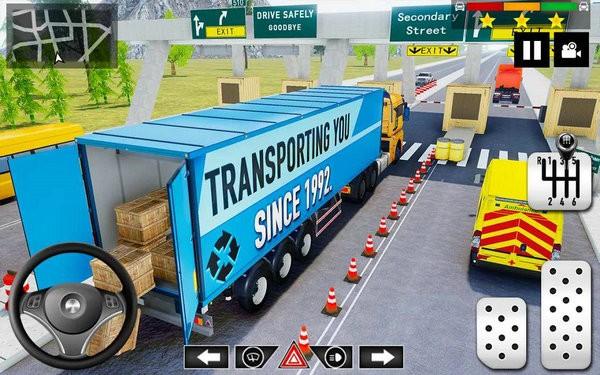货运卡车停车模拟游戏