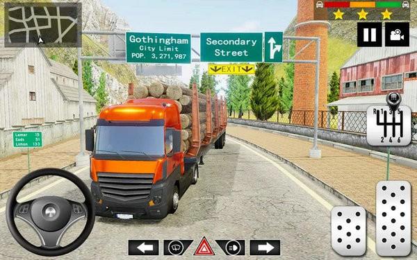 货运卡车停车模拟破解版下载