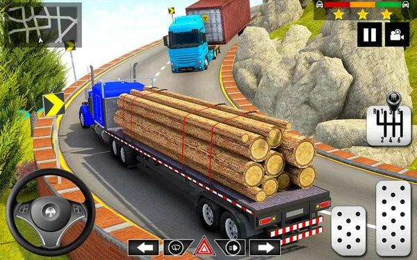 货运卡车停车模拟无限金币版