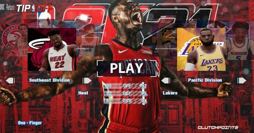 NBA2K21游戏