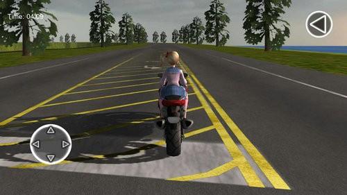 摩托车女孩