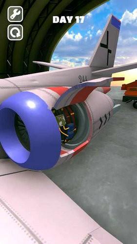 维修飞机游戏