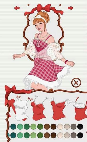 换装公主装扮游戏